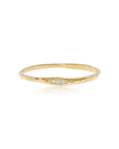 Trio Ring | 9k Gold