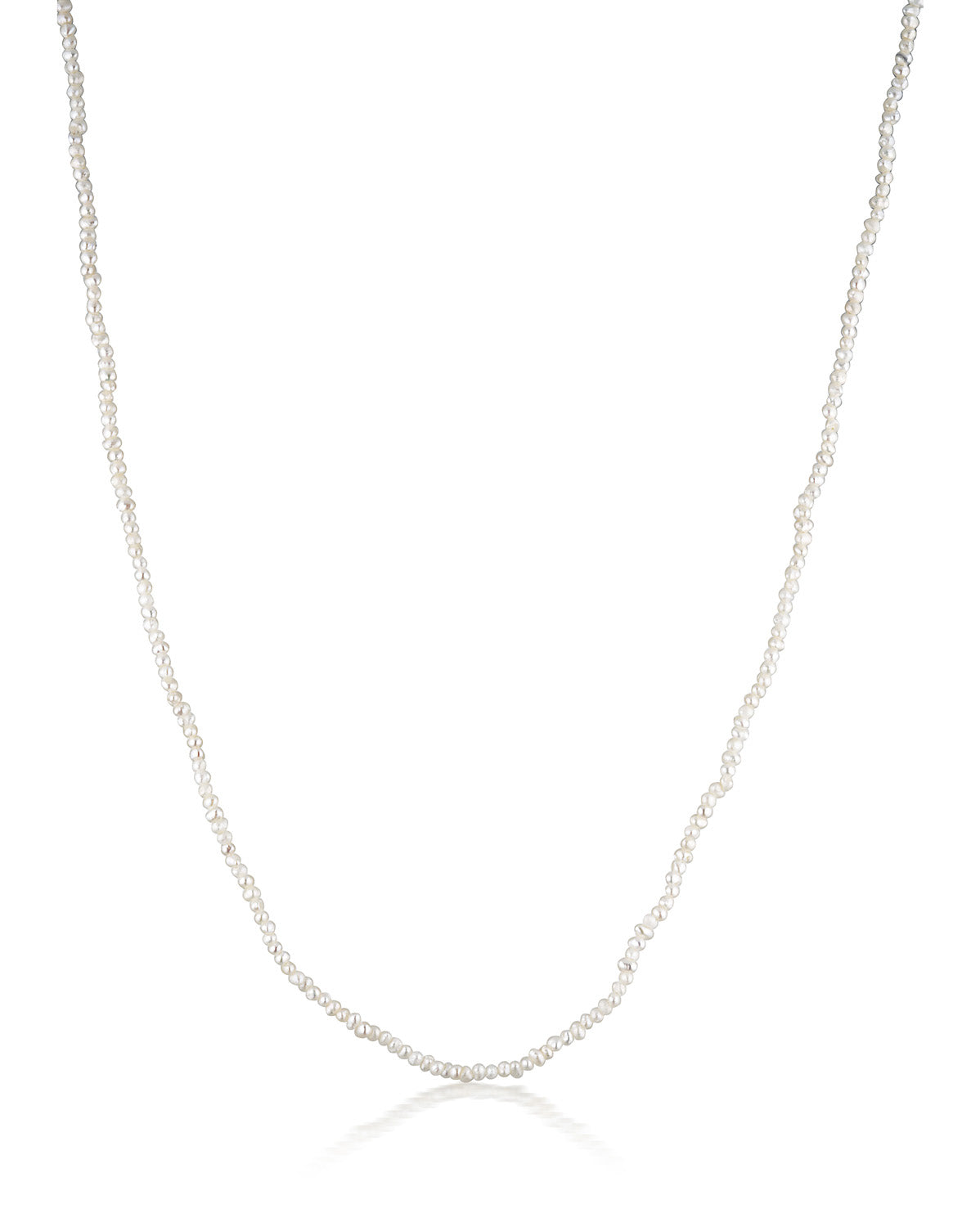 Luminous Pearl Necklace | Silver