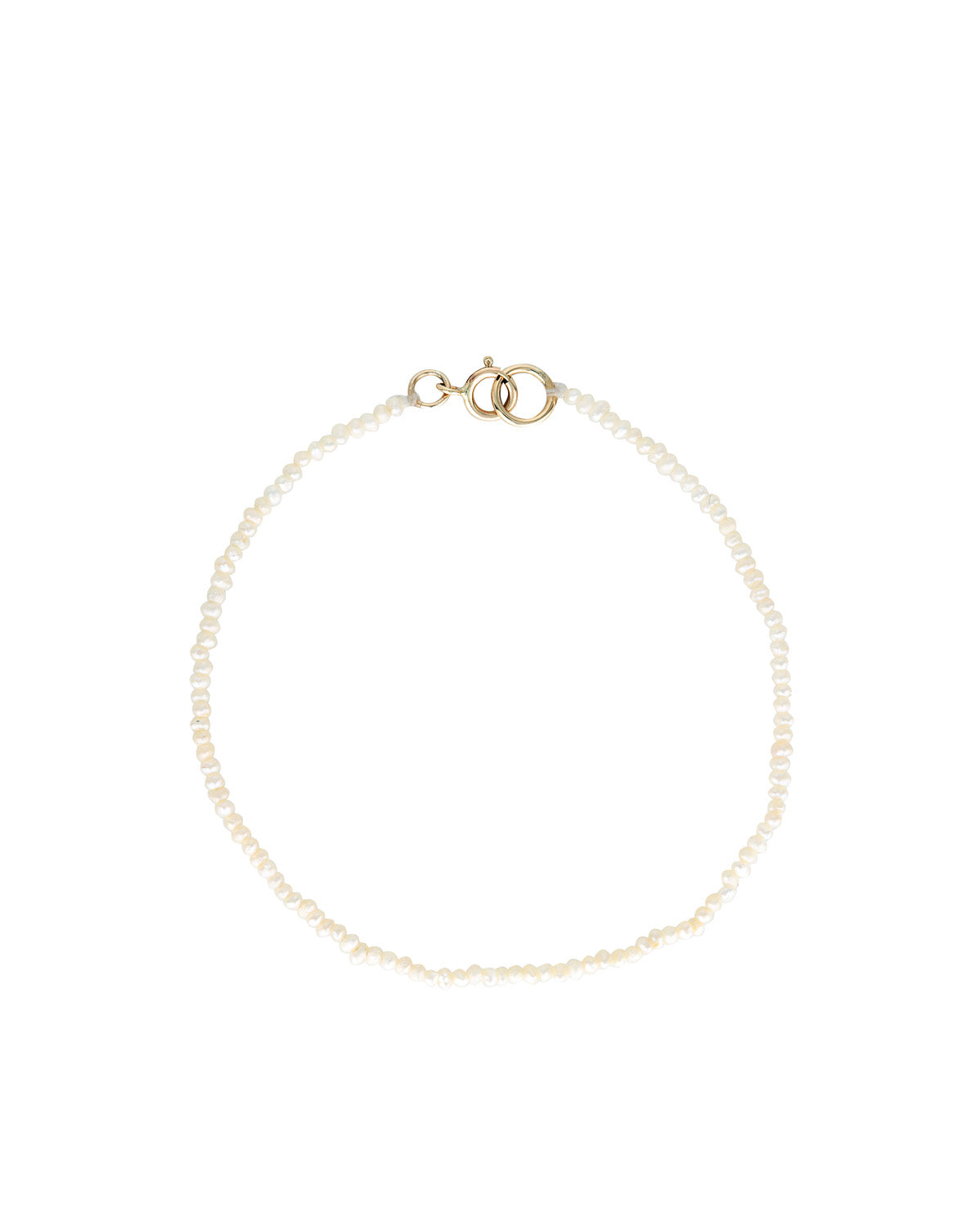 Luminous Pearl Bracelet | 9k Gold