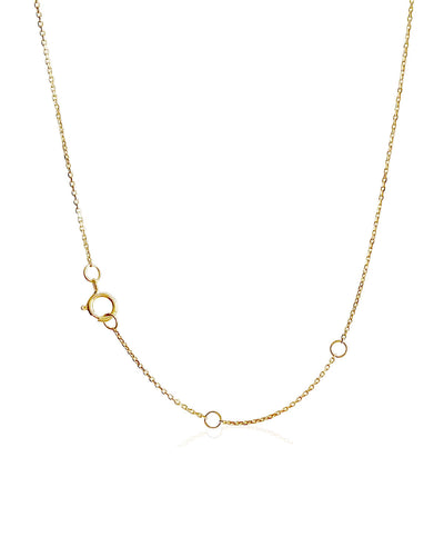 Tiara Necklace | 9k Gold