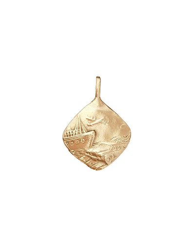 NEW Traveller's Amulet Pendant Gold