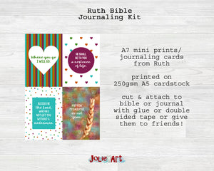 Ruth Bible Journaling Kit