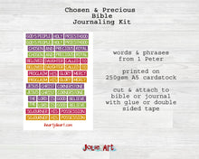 1 Peter Bible Journaling Kit