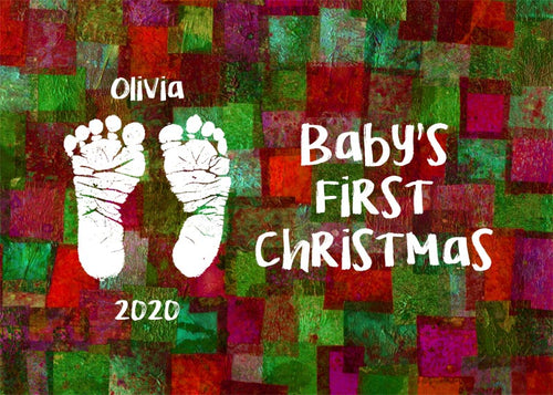 Baby's First Christmas Gift - Personalized Printable Download