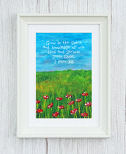 2 Peter 3:18 Framed Print