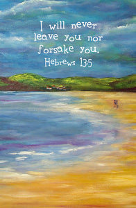 Hebrews 13:5 Framed Print
