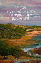 Romans 8:31 Framed Print