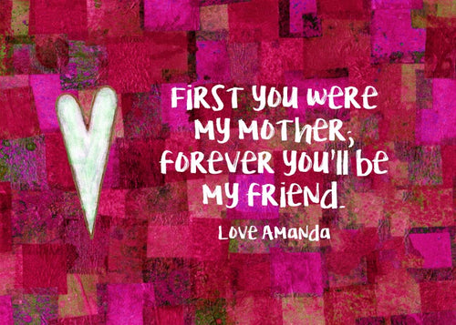 Mother Gift - Personalized Print - Digital Download