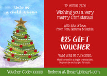 Christmas Gift Voucher - £10 to £100 Value