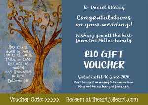 Wedding Gift Voucher - £10 to £100 Value