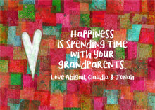 Grandparents Gift - Personalized Print - Digital Download