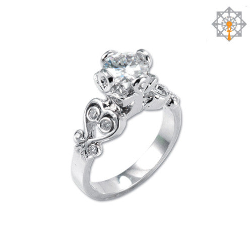 Sankofa Solitaire Engagement Ring