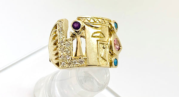 Sacred Woman Ascension Ring -DELUX