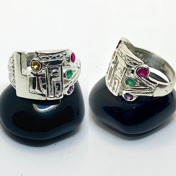 Sacred Woman Ascension Ring xtra GEMS