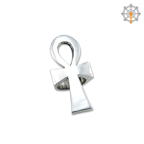 Smooth Large Ankh Ring