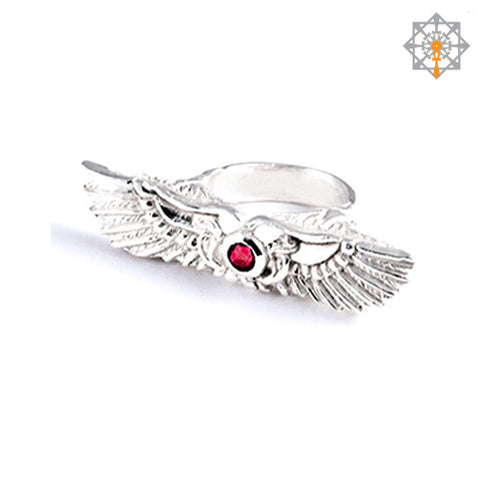 Winged Sun Ring