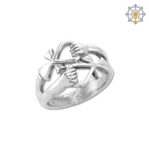 Double Ankh Friendship Ring