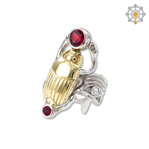 The Rebirth Scarab Ring