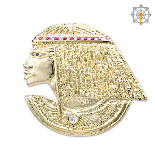 Queen nefertiti pendant by studio of ptah studio of ptah jewelry co nefertiti pendant mozeypictures