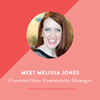 Introducing the Creative Chics Community Manager, Melissa!
