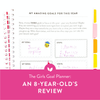 The Girls Goal Planner: An 8-Year-Old's Review