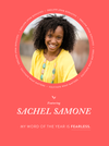 My Word of the Year – Sachel Samone