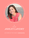 My Word of the Year – Ashley Landry