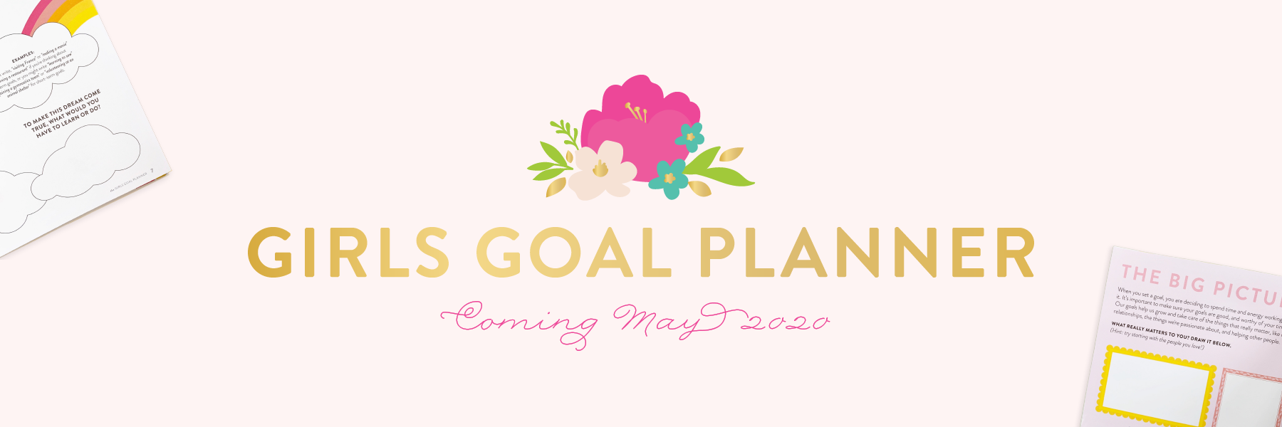 Girls Goal Planner by Cultivate What Matters | Goal Planner for Girls | PowerSheets Goal Planner