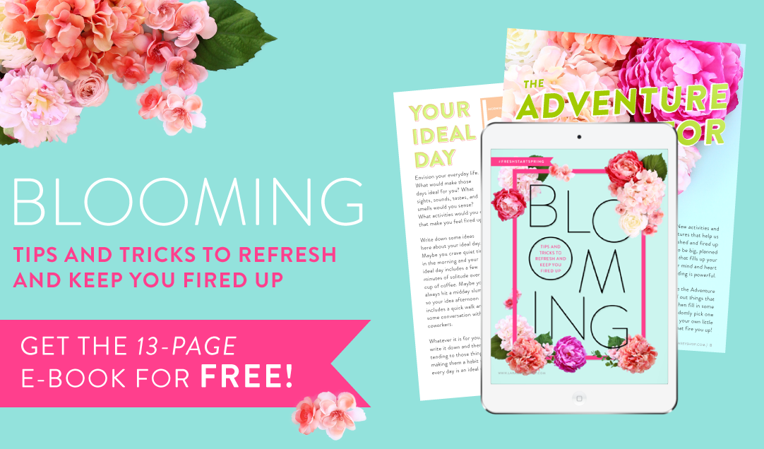 Blooming Fresh Start Spring E-Book