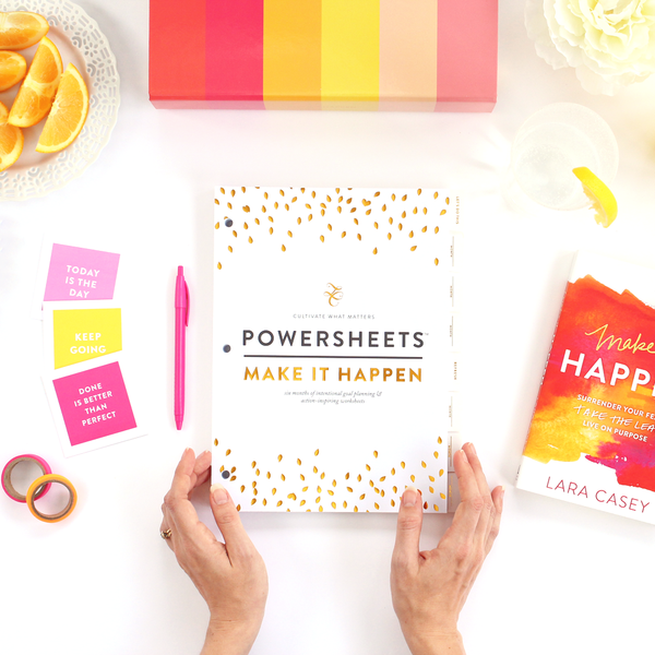PowerSheets Lara Casey Shop Power Sheets Make It Happen