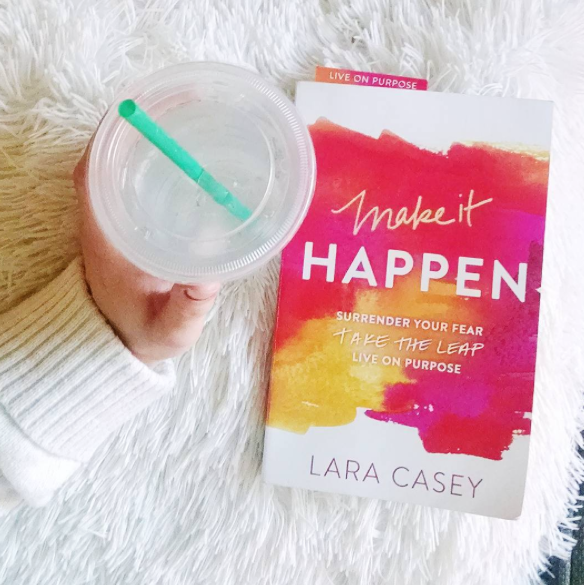 Make It Happen Book by Lara Casey