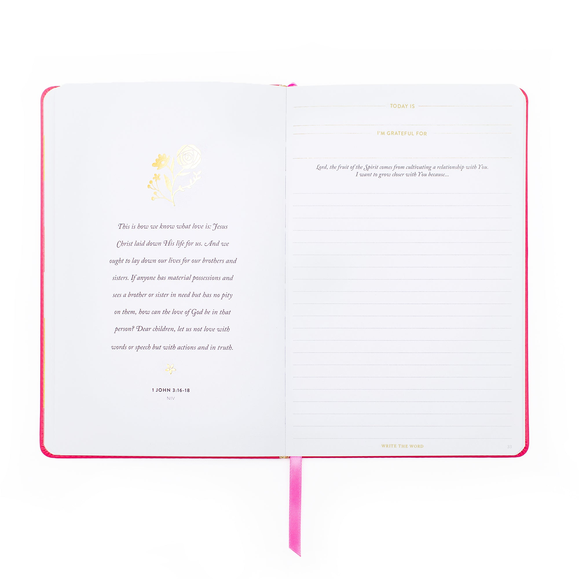 Lara Casey-Cultivate What Matters-2019-Fruit of the Spirit-Grow a Flourishing Faith-Journal-Quiet Time-Word of the Day-Write Scripture-Verse of the Day-Write the Word-Gold Foil-Faith-Faith Goals