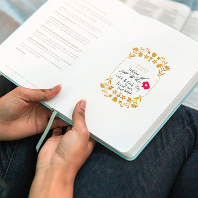 Write the Word - Life Goals - Cultivate What Matters - Confidence - Start Fresh - Know Who You Are in Him - Grow a Flourishing Faith Journal - Quiet Time - Word of the Day - Write Scripture - Verse of the Day