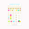 Celebration Sticker Pack - Holidays - Occasions - Seasonal - Birthday - Anniversary - Cultivate What Matters