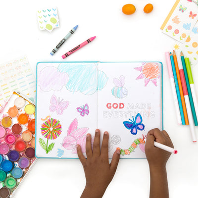 Lara Casey-Cultivate What Matters-2019-Write the Word Kids-Family Devotional-Train Up A Child-Primary Ruled-Journal-Coloring Journal-Draw In It-Homeschool-Grow Faith