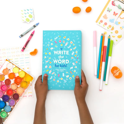 Lara Casey-Cultivate What Matters-2019-Write the Word Kids-Write the Word Fruit of the Spirit-Kids-Coloring Journal-Drawing Journal-Primary ruled pages-Faith Journal-Family Devotionals-Quiet Time-Homeschool-Teach Faith-Coloring Journal-Draw In It