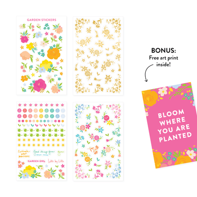 Lara Casey-Cultivate What Matters-Stickers-Garden