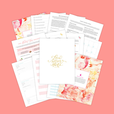 Joyful Wedding Planner Download by Southern Weddings