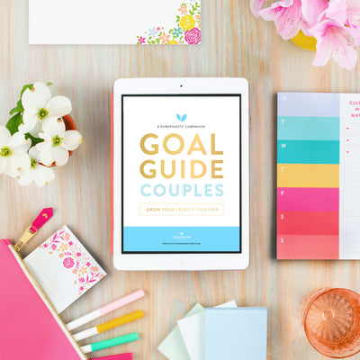 Lara Casey-2019 Goal Setting-2019 Summer Goal Setting-Goal Guides-Digital Goal Guides-Download-PowerSheet Accessory-Family Fun-Couples-Date Night-Dating-Marriage-Married-Love-Lifetime Friends