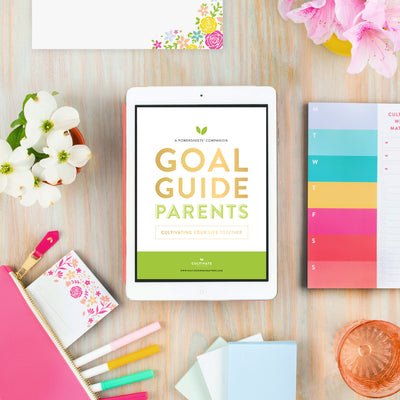 Lara Casey-2019 Goal Setting-2019 Summer Goal Setting-Goal Guides-Digital Goal Guides-Download-PowerSheet Accessory-Progress-Parent-Parents-Family Safety-Family Fun-Love-Lifetime Friends