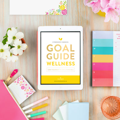 Digital Goal Guide - Health - Wellness - Cultivate What Matters - Smart Goal Setting