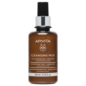 APIVITA 3 IN 1 CLEANSING MILK FOR FACE & EYES 200ml