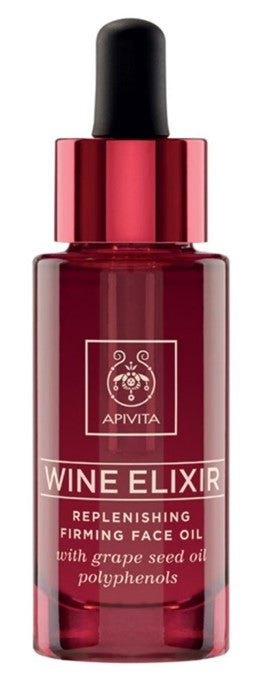 APIVITA WINE ELIXIR REPLENISHING & FIRMING FACE OIL 30ml