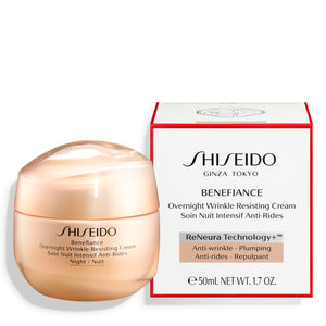SHISEIDO BENEFIANCE OVERNIGHT WRINKLE RESISTING CREAM 50ml