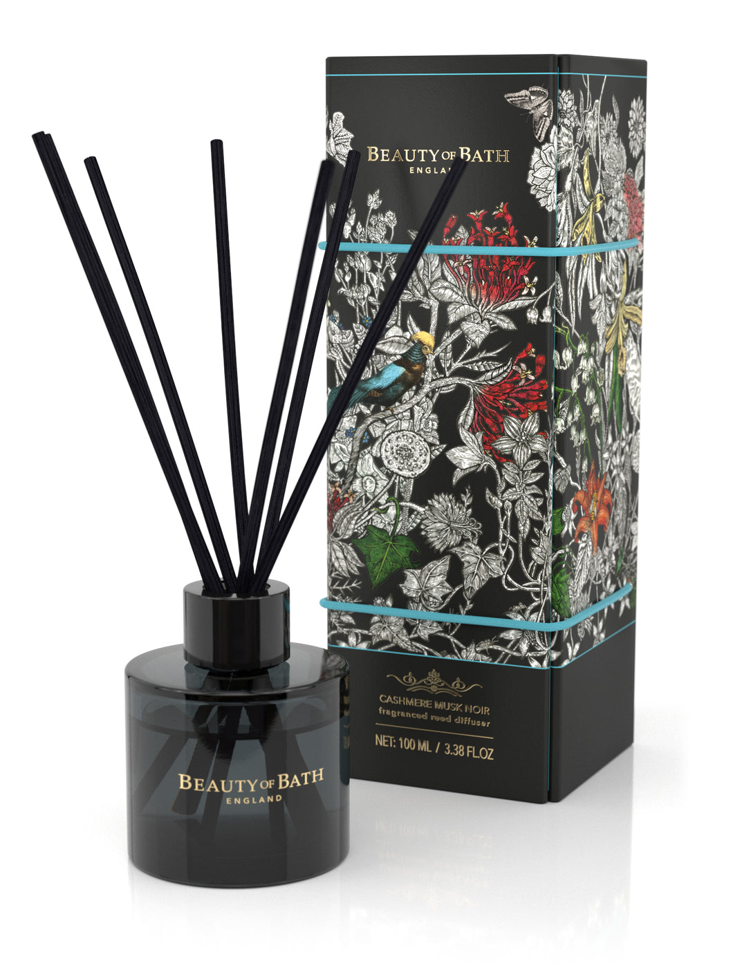 BEAUTY OF BATH REED DIFFUSER 100ml # CASHMERE MUSK NOIR