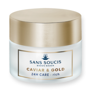 SANS SOUCIS CAVIAR & GOLD ANTI AGE DELUXE RICH 24hr CARE FOR DRY SKIN