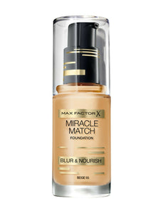 MAX FACTOR MIRACLE MATCH FOUNDATION # 55 BEIGE
