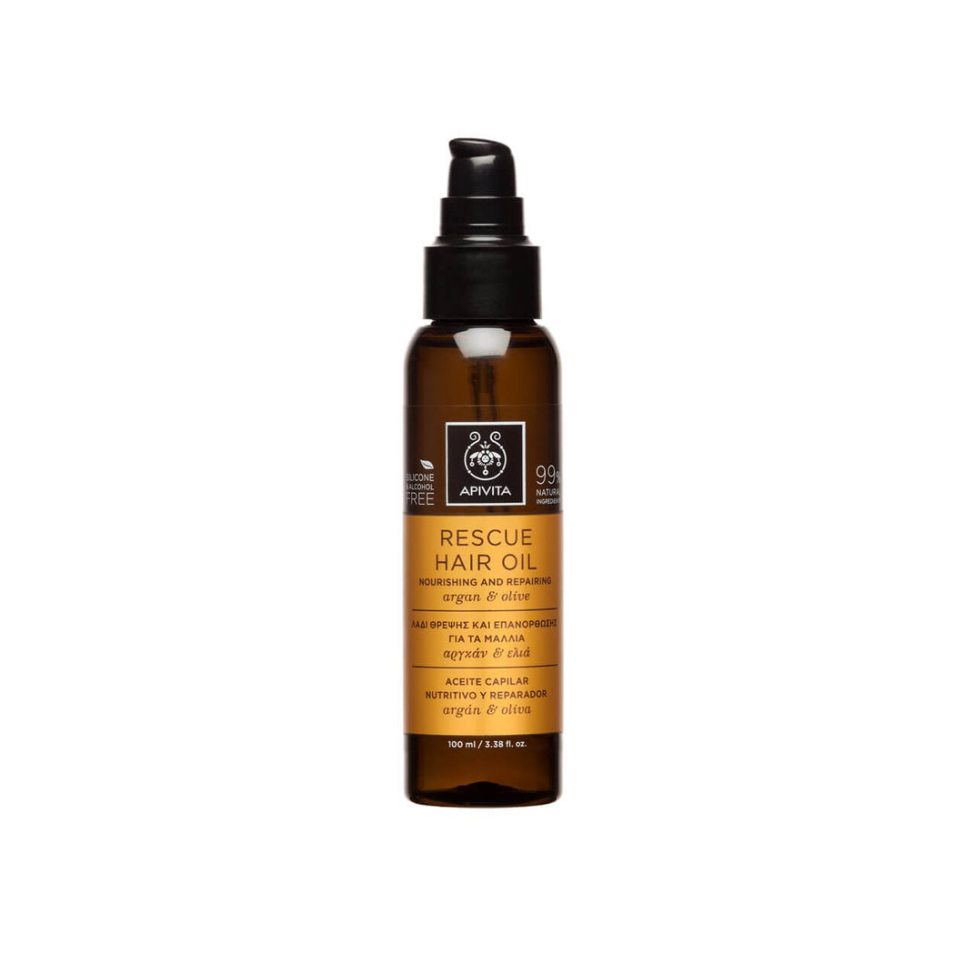 APIVITA RESCUE HAIR OIL 100ml