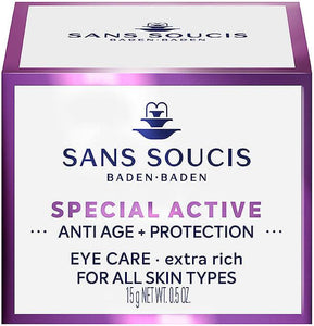 SANS SOUCIS SPECIAL ACTIVE EYE CARE - EXTRA RICH 15ml