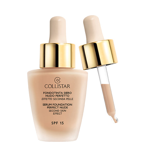 COLLISTAR SERUM FOUNDATION PERFECT NUDE - SECOND SKIN EFFECT